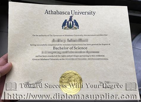 Mba Athabasca by Do You Need A Athabasca Diploma Buy