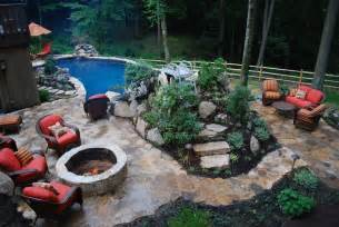 inground pools and landscaping for small backyards joy