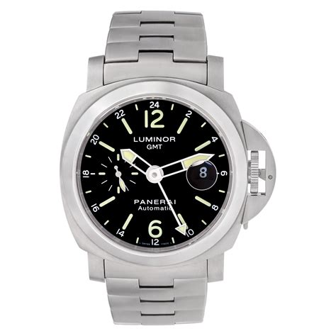 Luminor Stainless panerai luminor gmt pam00297 stainless steel world