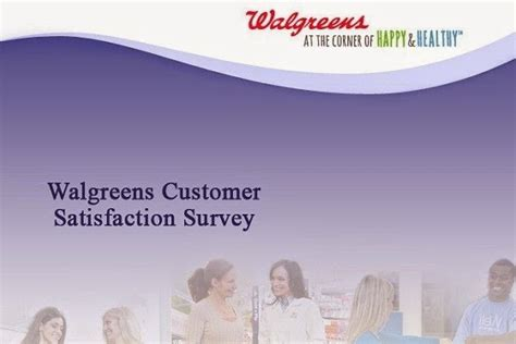 Walgreens Survey Sweepstakes - win 3000 for walgreens feedback in survey sweeps on walgreenslistens com