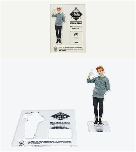 Acrylic Stand Bts Official 2nd Muster Bts Acrylic Standee Jimin Suga bts acrylic stand from 2nd muster zip code 22920