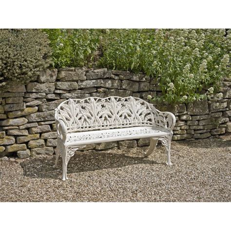valley bench garden bench coalbrookdale lily of the valley holloways