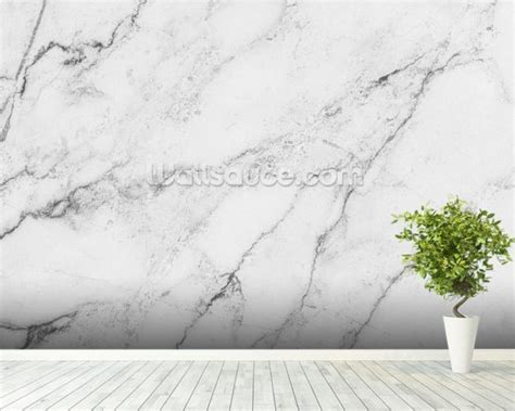 Made To Measure Wall Murals black and white marble wallpaper wall mural wallsauce usa