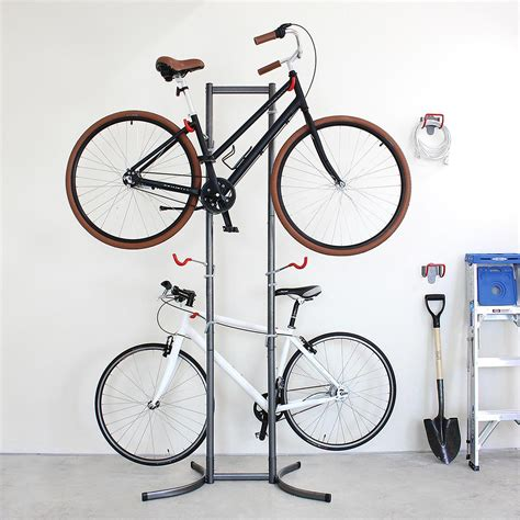 4 bike canaletto freestanding rack the container store