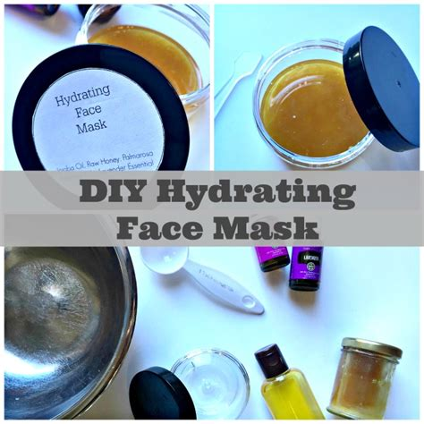 Diy Moisturizing Mask For Skin Diy Do It Your Self Diy Hydrating Mask Using Essential Oils Family Focus