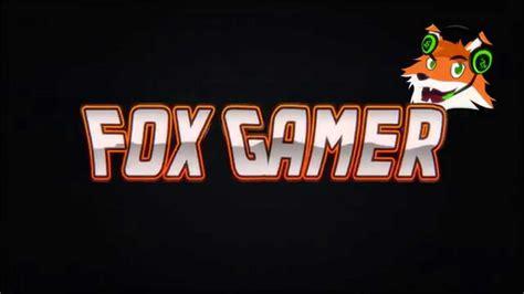 the gamer fox intro fox gamer