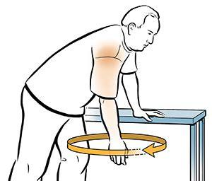 pendulum swings exercise exercises for shoulder flexibility pendulum exercise