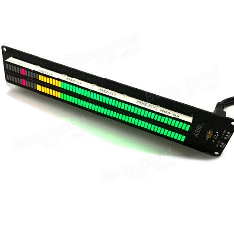 Led Vu Meter Kit diy led vu meter kit diy do it your self