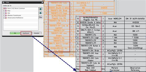 parts list template automatic sort in parts list nx7 5 siemens ug nx eng tips