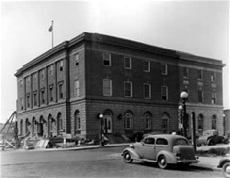 Minot Post Office by 2005 Collections Photographs Archives State