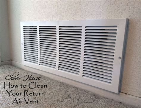 How To Purge Your House by How To Clean Your Return Air Vent Hometalk