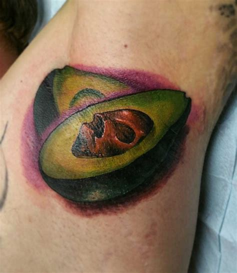 avocado tattoo avocado armpit best ideas gallery