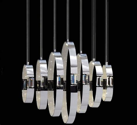 Large Contemporary Chandelier Glade 7 Light Large Contemporary Chandelier Grand Light