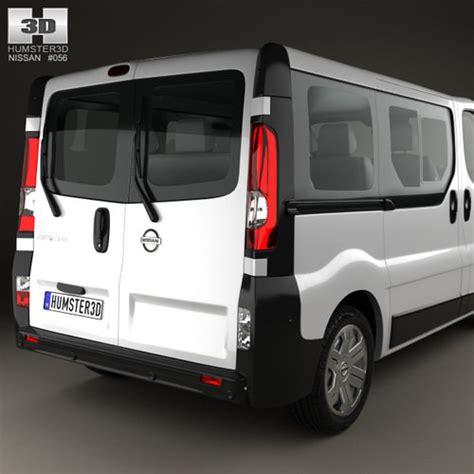 nissan primastar passenger 2002 3d model max obj