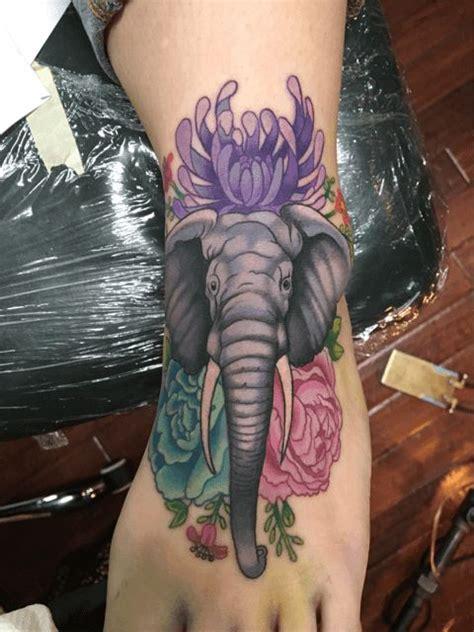 tattoo elephant foot elephant foot tattoo copy 75898 png 480 215 640 tattoo