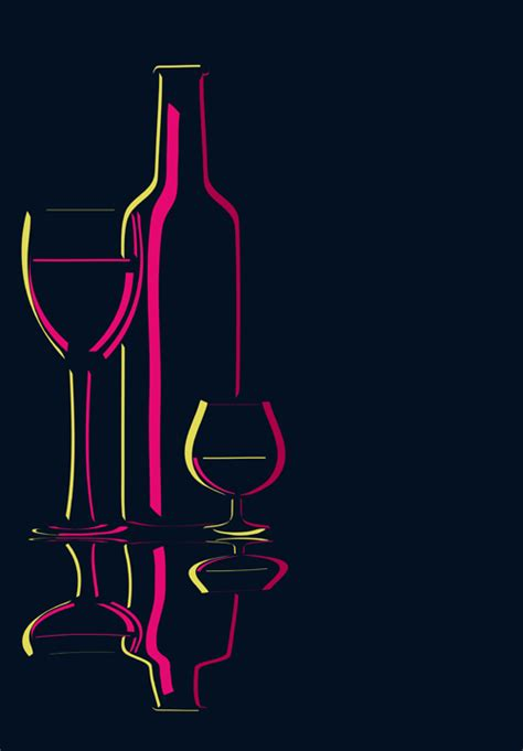 powerpoint templates free download wine elements of wine design vector graphic set 04 over