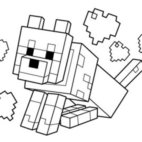 Minecraft Sty Coloring Page Free Printable Coloring Minecraft Coloring Pages Cat