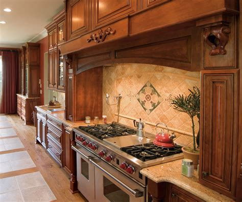 traditional kitchen cabinets cherry cabinets with painted kitchen island kemper