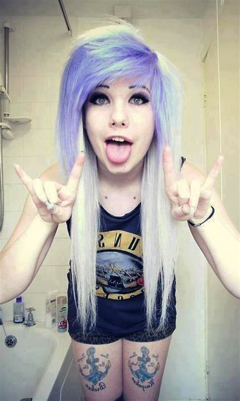 scene queen and alternative modeling trends growing cute hipster scene style girls daily wallpapers app