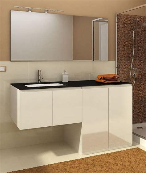 mobile bagno con portalavatrice mobile bagno con porta o copri lavatrice vip3 da 160 cm