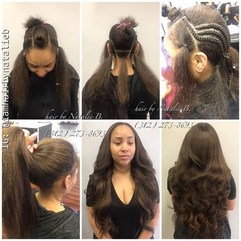 versatile sew in natural looking versatile sew in hair weave using