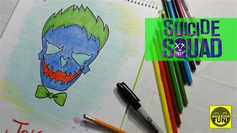 imagenes suicidas a lapiz c 243 mo dibujar al guas 243 n de escuadr 243 n suicida how to draw