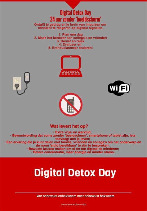 Digital Detox For by Digital Detox Day Archieven Stopmultitasken Nl
