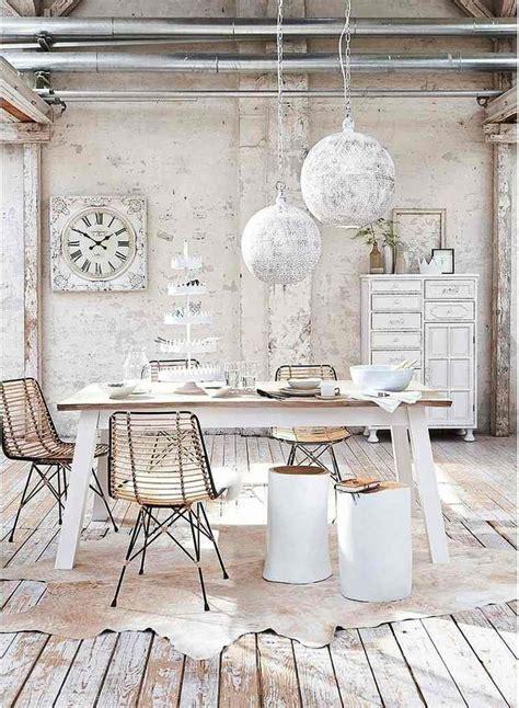 Rustic Dining Room Decorating Ideas Shabby Chic Pour Votre D 233 Co Romantique Essayez