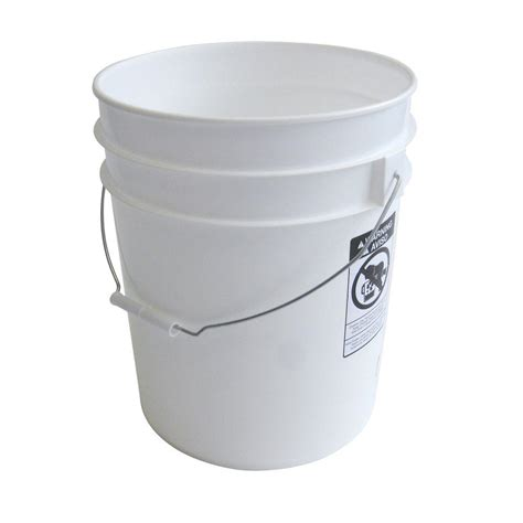 argee 5 gal white pail 10 pack rg5700 the home depot