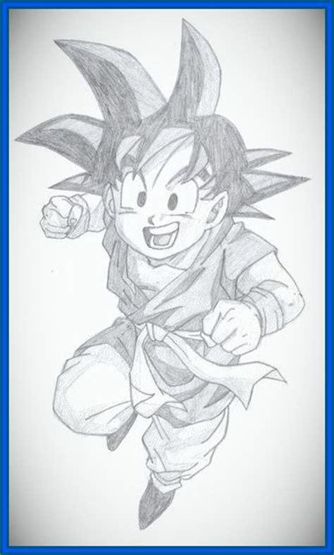 imagenes geniales de goku geniales dibujos a lapiz de dragon ball gt para imprirmir