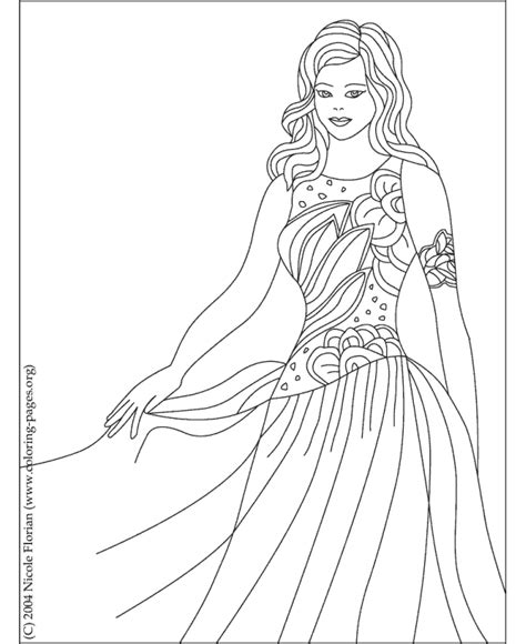 Printable Princess Coloring Page 4 Superheroes Color Pages Of Princess Printable