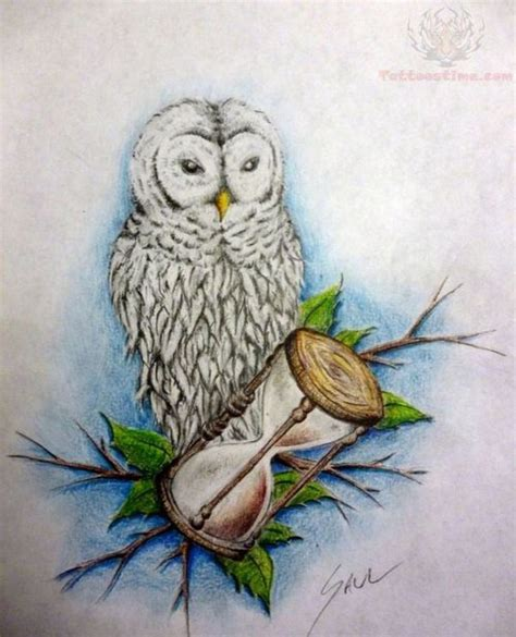 white owl tattoo white owl meaning