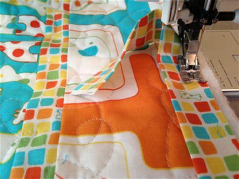 How To Sew Quilt Binding By Machine machine quilt binding tutorial sew sew