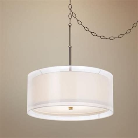 Swag Lighting Fixtures Drums Dining Rooms And Simple Elegance On
