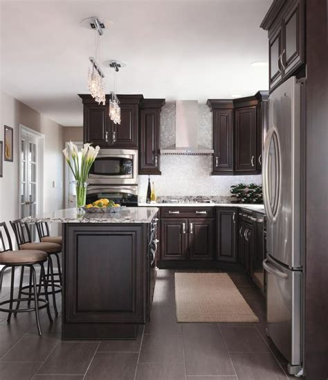kitchen cabinets dark brown best 25 espresso kitchen cabinets ideas on pinterest