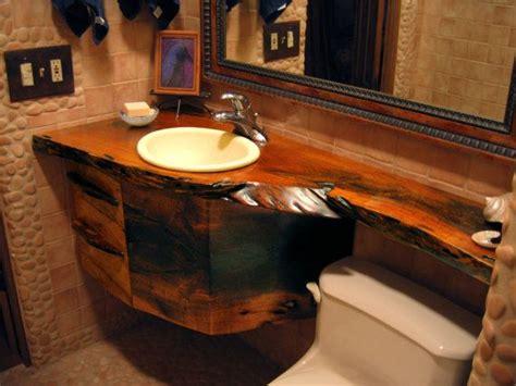 wood counter bathroom 8 best natural edge wood slabs images on pinterest
