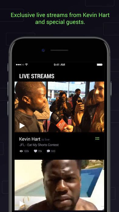kevin hart laugh out loud curated comedy apps laugh out loud by kevin hart