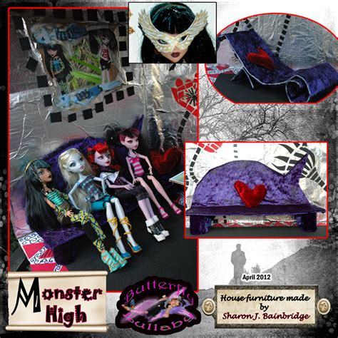 pictures of monster high doll house pin monster high dolls house made from a box and handmade