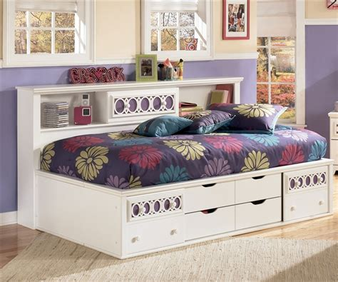 twin size beds for girls zayley bookcase storage bed twin size bedroom furniture