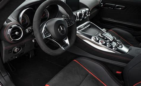 new 2016 mercedes amg gt s 2dr coupe car interior