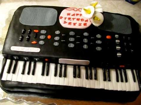 keyboard cake tutorial keyboard piano cake youtube