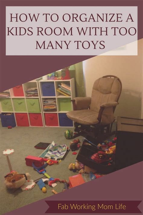 how to organize a room with many toys