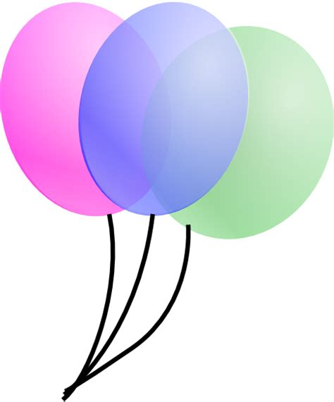 Clipart Of Balloons balloons clip at clker vector clip royalty free domain