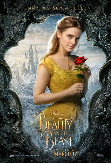 beauty and the beast beauty and the beast 2017 poster 16 trailer addict