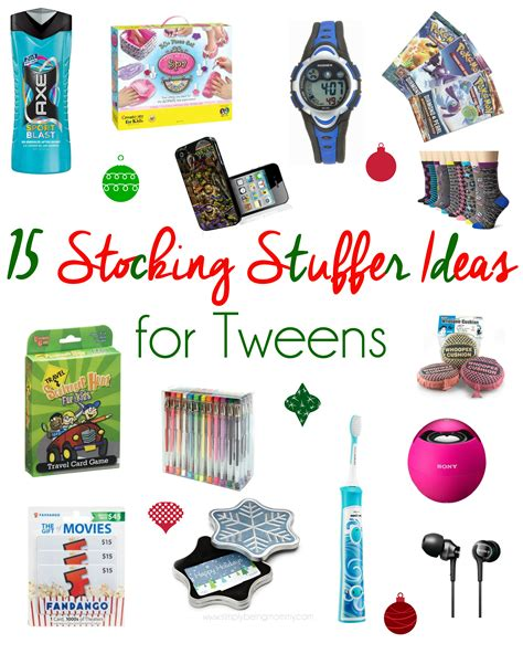 stocking stuffers stocking stuffer ideas for tweens unique stocking stuffer