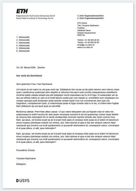 Letter Of Recommendation Eth Zurich logo services resources eth zurich