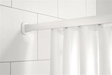 1800mm Shower Bath shower curtains and rails premium quality heavy duty