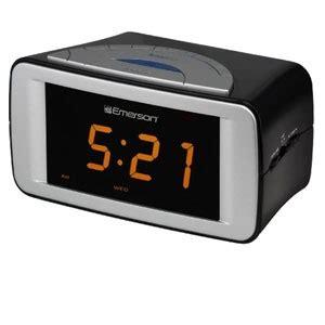 emerson cks9051 smartset dual alarm clock led display am fm tuner 3 alarm modes at