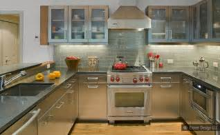 gray cabinets countertop backsplash idea backsplash