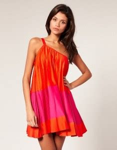 pink colour combination dresses pink and orange dress combination still in this season